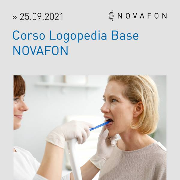 Corso Logopedia Base NOVAFON 25.09.2021