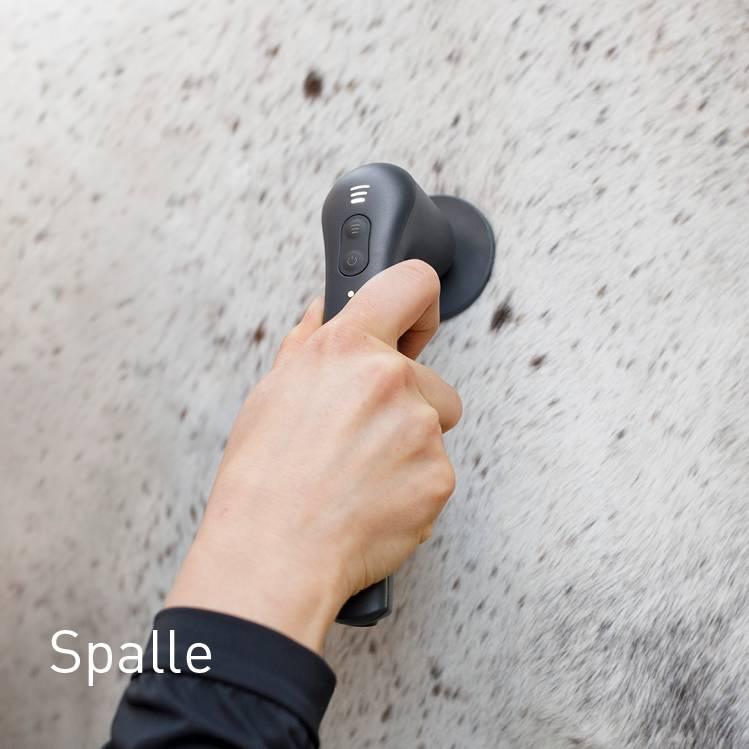 Schulter beim Pferd behandeln mit NOVAFON