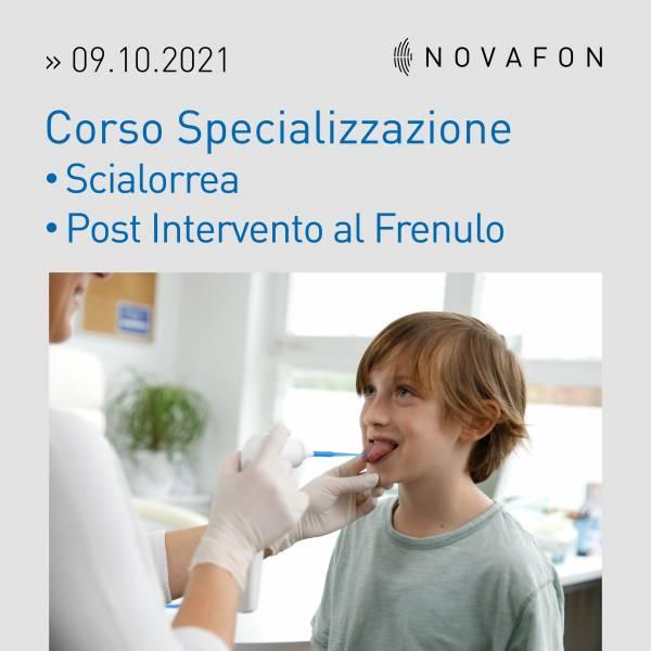 Corso Specializzazione Scialorrea e Post intervento Frenulo 09.10.2021